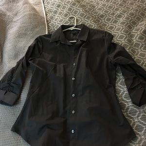 Banana Republic stretch dress shirt size medium